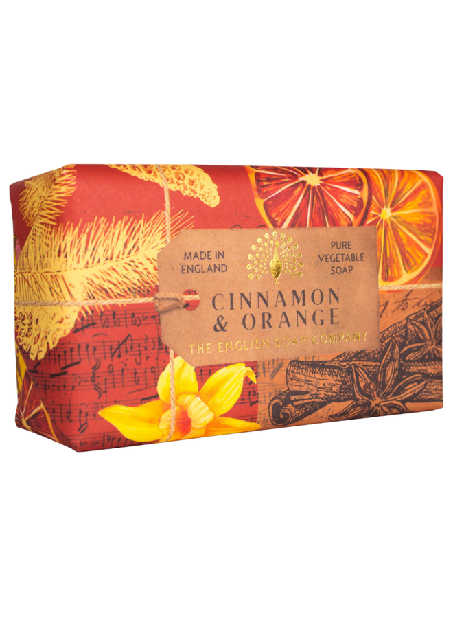Cinnamon & Orange  Pure Vegetable Soap