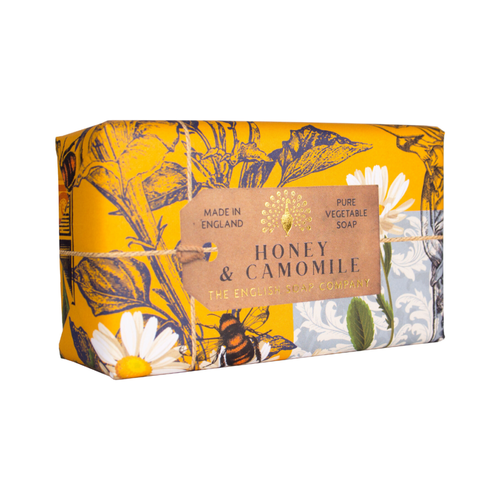 English Soap Company Honey and Camomile Pure Vegetable Soap