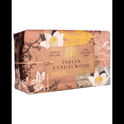 English Soap Company Indian Sandalwood Vegetable Soap