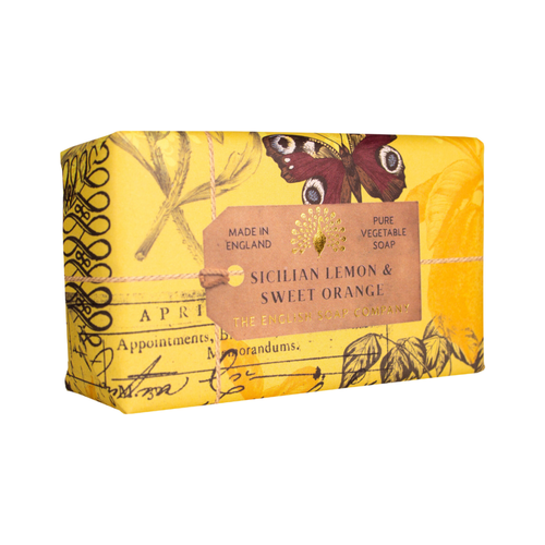 English Soap Company Sicilian Lemon & Sweet Orange Pure Vegetable Soap