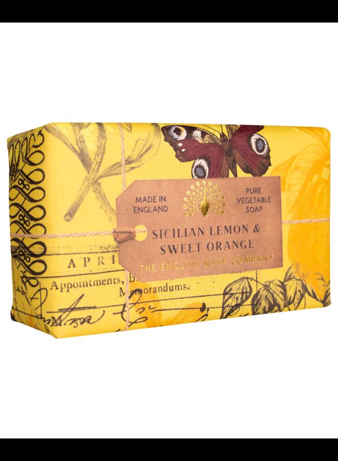 Sicilian Lemon & Sweet Orange Pure Vegetable Soap