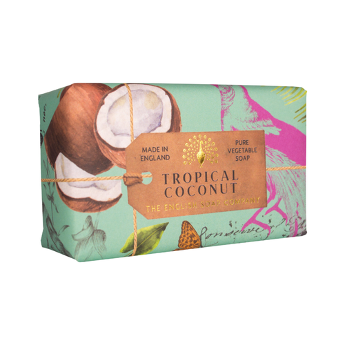 English Soap Company Tropical Coconut Vegetable Soap
