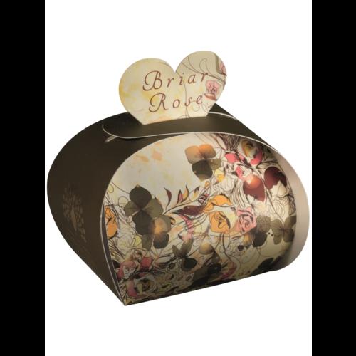 English Soap Company Briar Rose Luxury x3  Mini Guest Soap