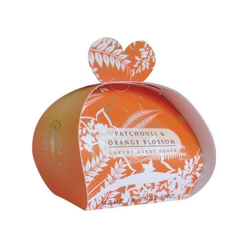 English Soap Company Patchouli & Orange Luxury x3  Mini Guest Soap