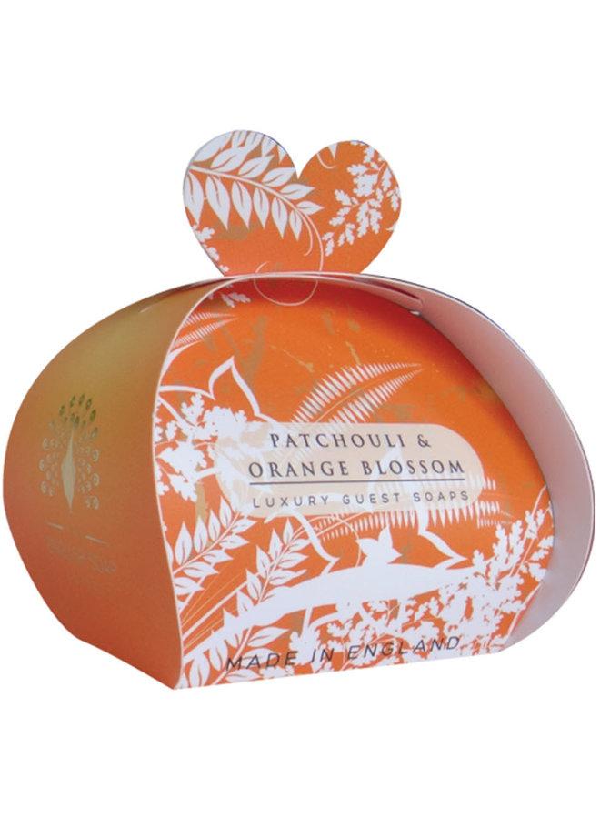 Patchouli & Orange Luxury x3  Mini Guest Soap