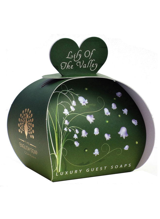 Lily of the Valley Luxury x3  Mini Guest Soap
