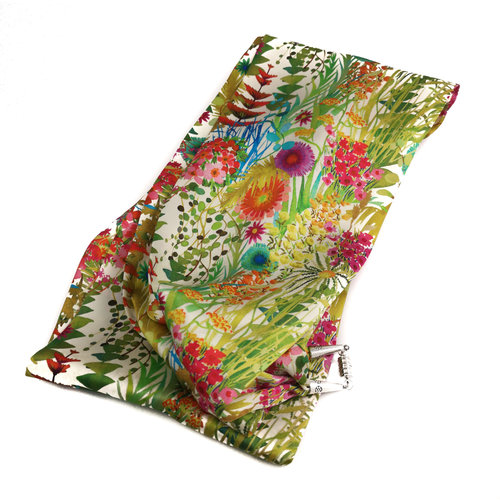 Lady Crow Silks Spring Tresco Pañuelo de satén y seda con cierre magnético En caja 89