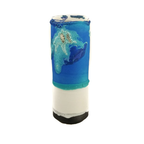 Anja  Stoneware Vaso de vainas de alféizar 20