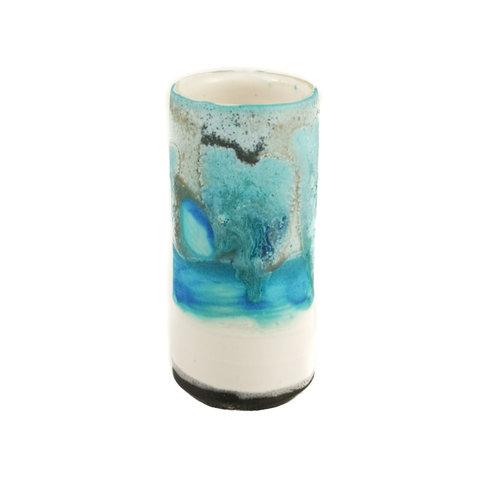 Anja  Stoneware Windowsill Pod Vase 27