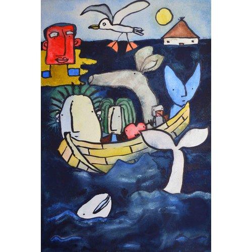 Barry Cook 'En el mar índigo' - 027