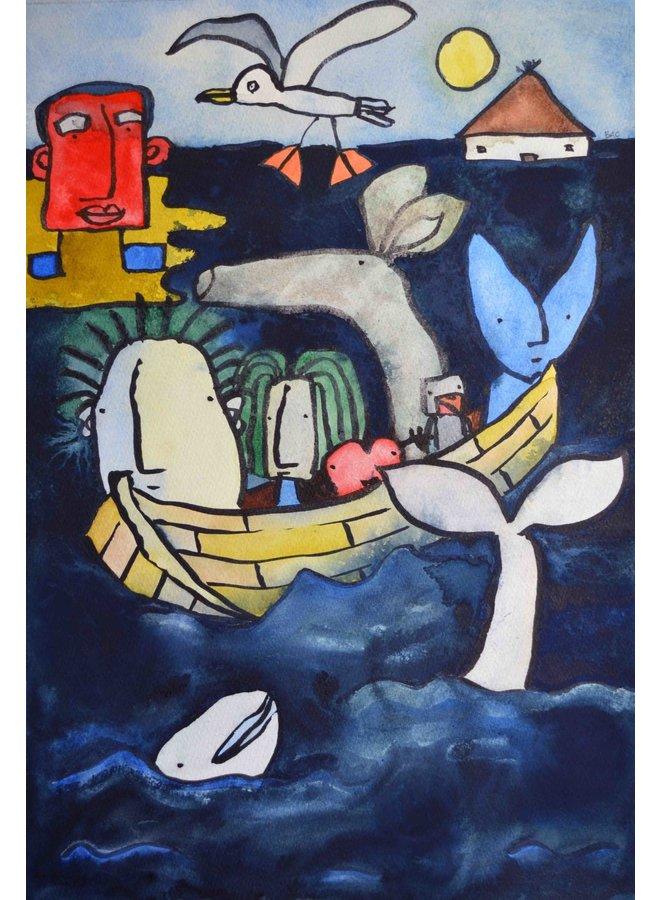 """""""Auf dem Indigo-Meer"""" - 027"""