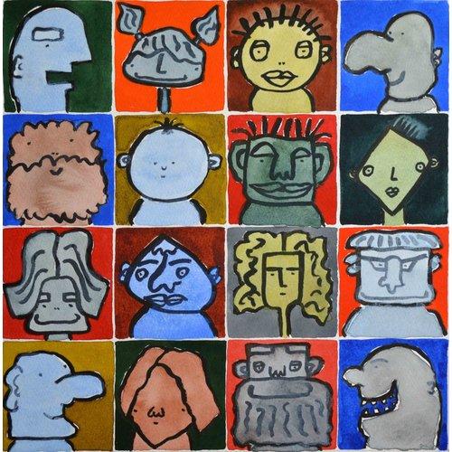 Barry Cook Dieciséis cabezas (Mr Big Nose) - 021