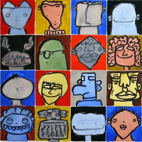 Barry Cook Dieciséis cabezas (Toothy Grin) - 022