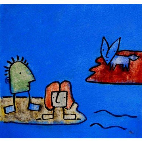 Barry Cook 'El zorro azul'- 028