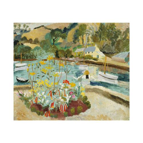 Art Angels Summer 1928 card  by Winifred Nicholson