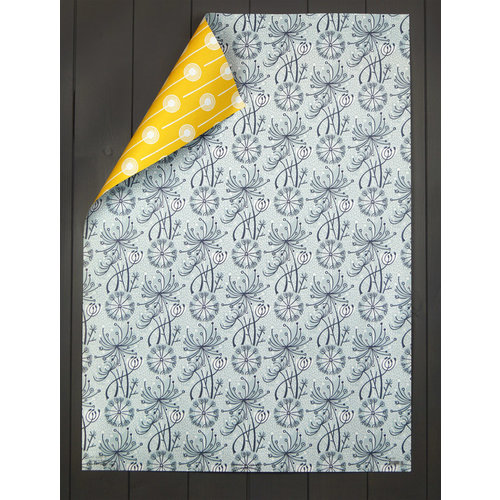 Art Angels Dandelion Double gift wrap by Angie Lewin