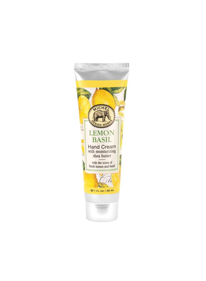 Zitronen-Basilikum-Handcreme