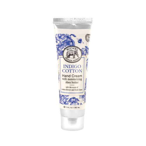 Michel Design Works Indigo Cotton Hand Cream