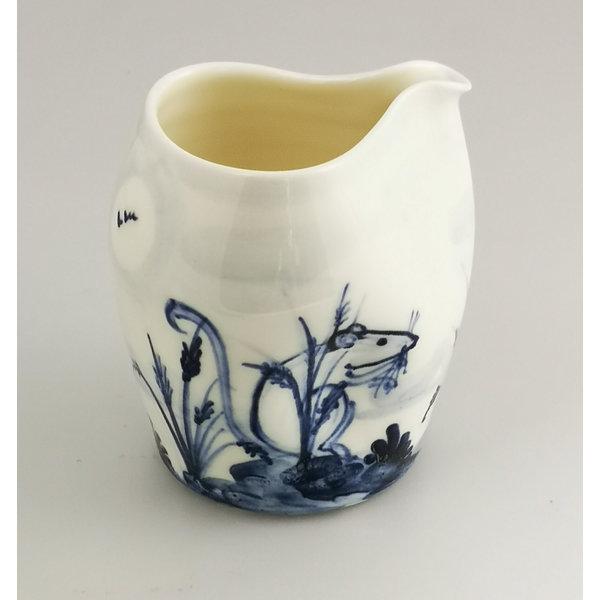 Jarra dos porcelana pintada a mano de porcelana 045