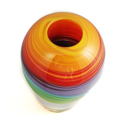 Niki Steel Forma de cristal del arco iris 6