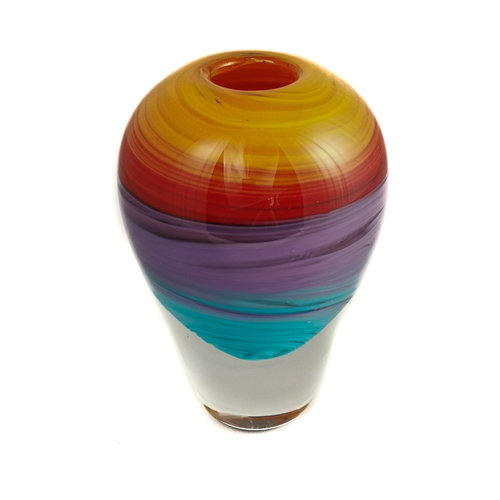 Niki Steel Teoría del color del atardecer Forma de vidrio 7