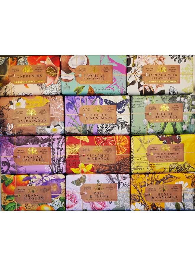 Honey and Camomile Pure Vegetable Soap
