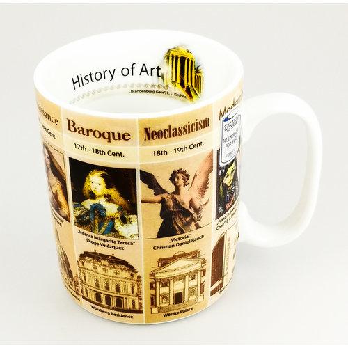 Konitz Historia del arte taza grande