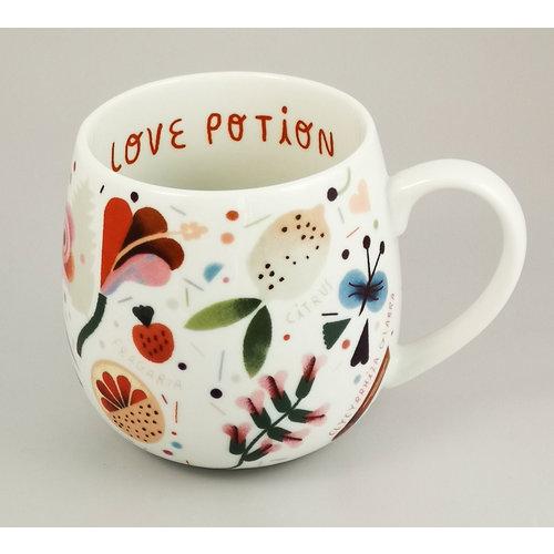 Konitz Love Potion fruits and flowers mug