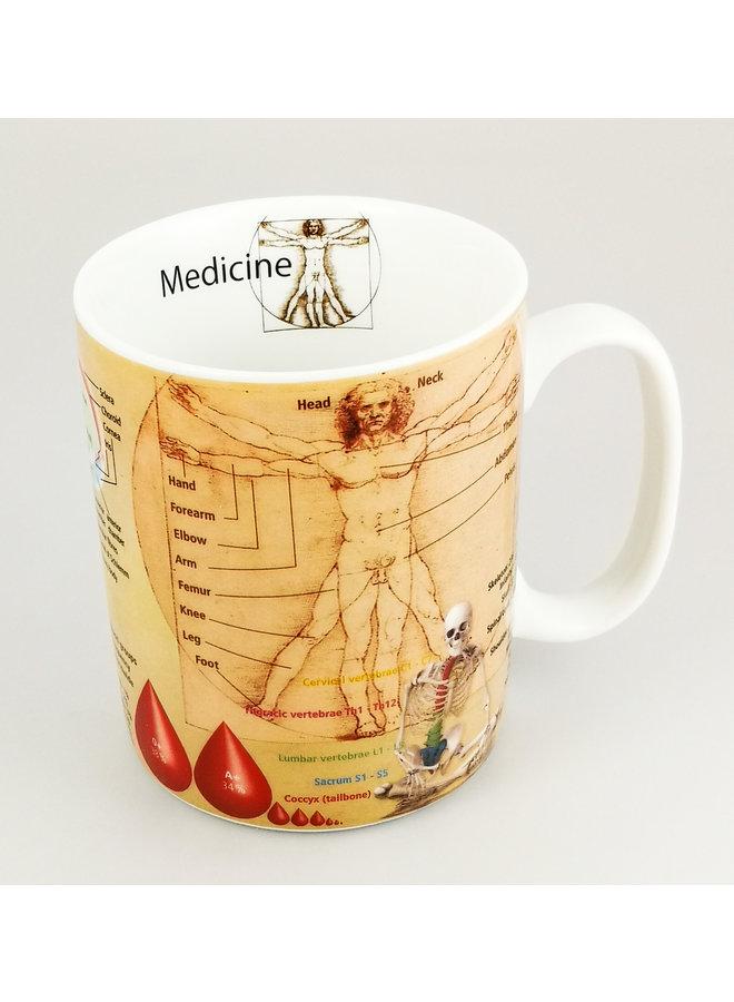 Medizin große Wissensbecher