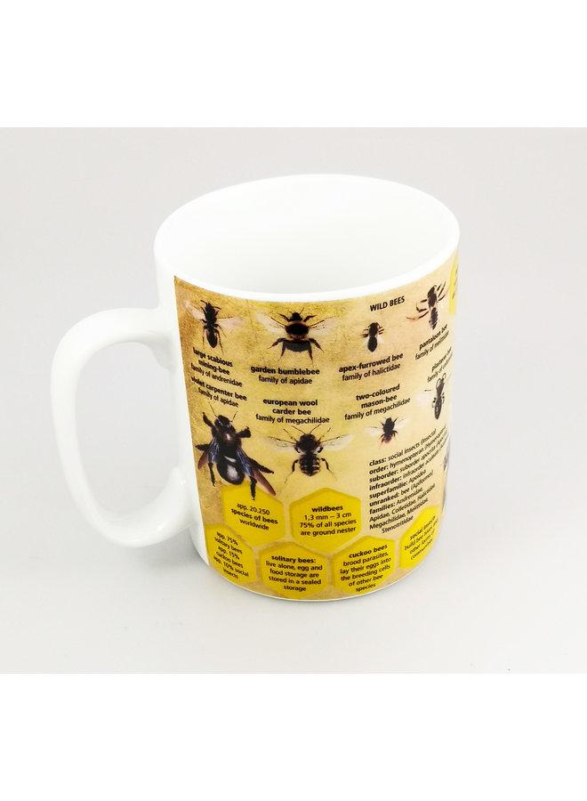 Bees Large Knowledge Mug
