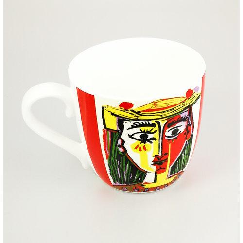 Konitz Taza Picasso Femme Au Chapeau