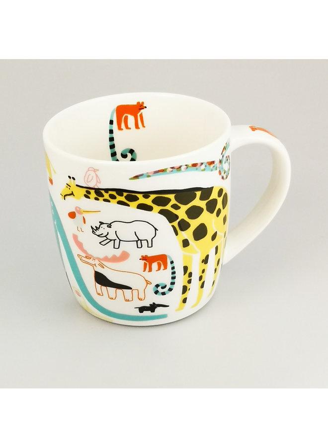 Giraffe & Co Becher