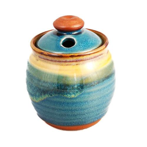 R B Ceramics Olla de ajo con tapa 019