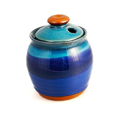 R B Ceramics Olla de ajo con tapa 020