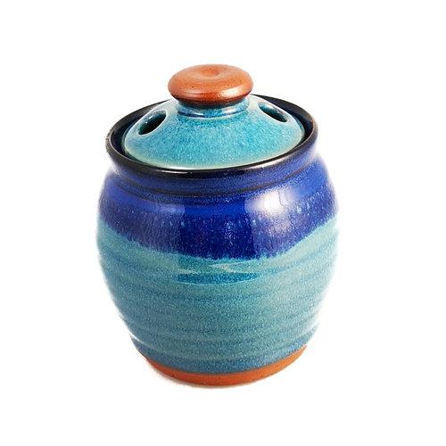 R B Ceramics Olla de ajo con tapa 021