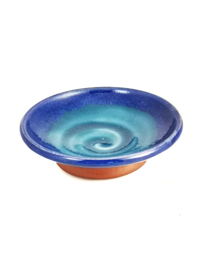 Mini Tapas Gericht blau Strudel 042