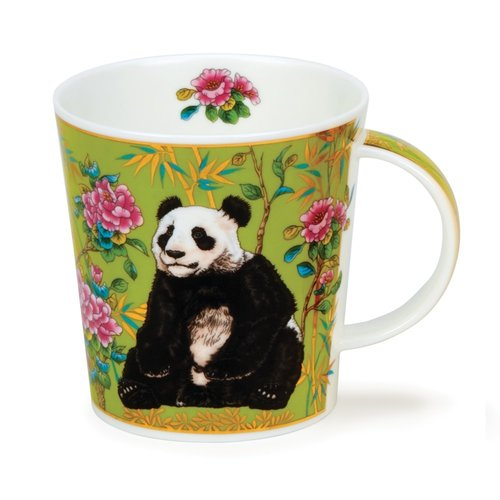 Dunoon Ceramics Panda Ashika mug by David Broadhurst  66