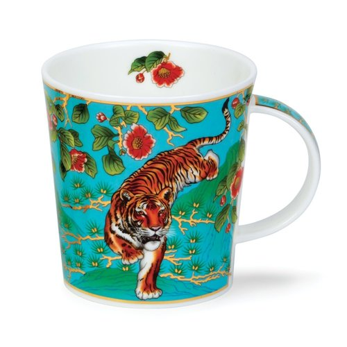 Dunoon Ceramics Tiger Ashika mug by David Broadhurst  67