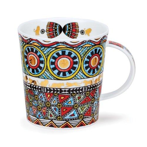 Dunoon Ceramics Afrika Red Mug by Caroline Dadd  71
