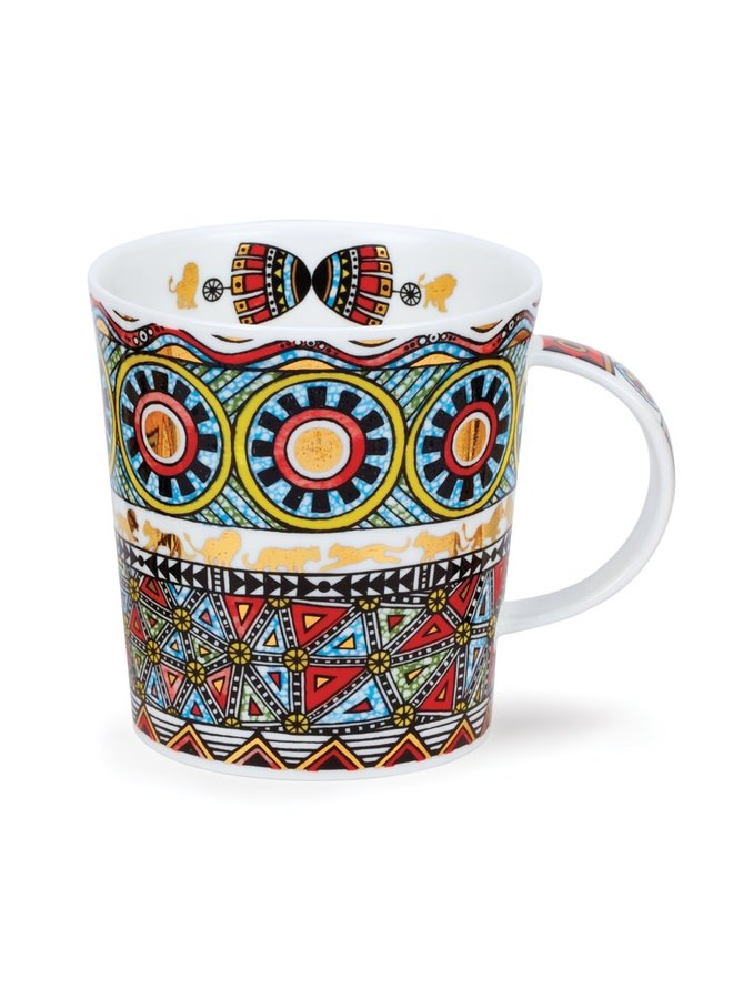 Afrika Red Mug by Caroline Dadd  71