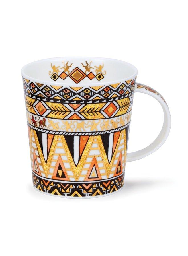 Afrika Orange Mug by Caroline Dadd  72