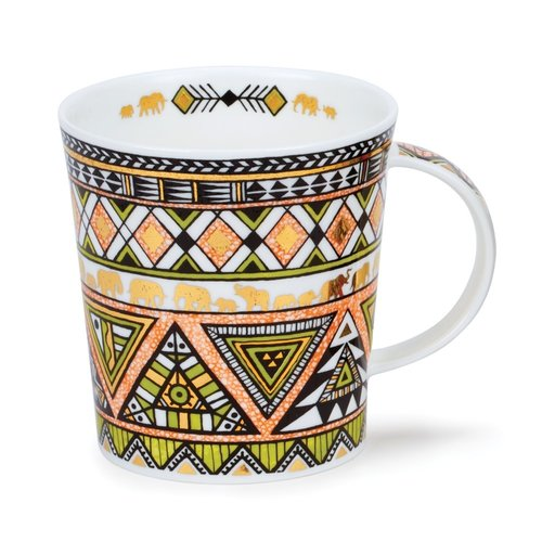 Dunoon Ceramics Taza Afrika Lime de Caroline Dadd 73