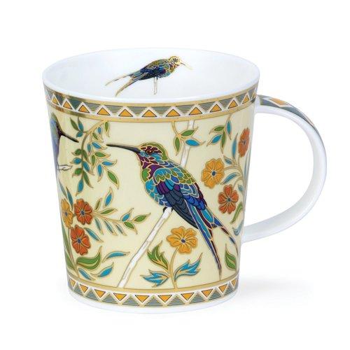 Dunoon Ceramics Exotic Birds Zayna Cream Mug by David Broadhurst 76