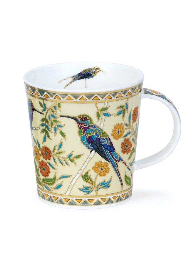 Exotische Vögel Zayna Cream Mug von David Broadhurst 76