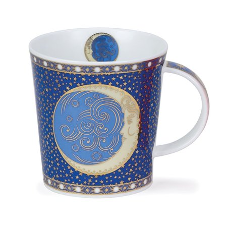 Dunoon Ceramics Celestial Moon Mug by David Broadhurst 77