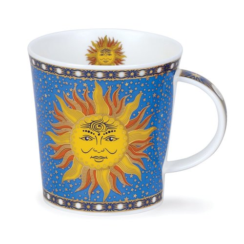 Dunoon Ceramics Celestial Sun Mug by David Broadhurst 78