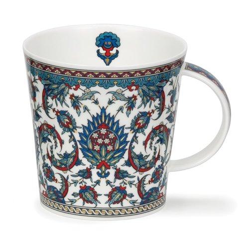Dunoon Ceramics Amara Teal large Mug by David Broadhurst 85