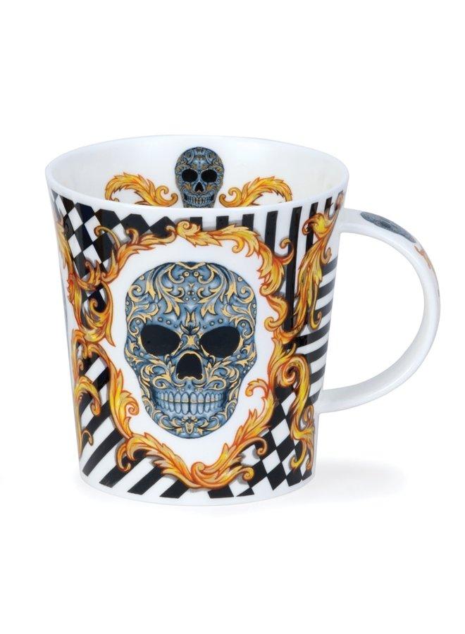 Silver Skull Elysium Mug von Caroline Dodd 80
