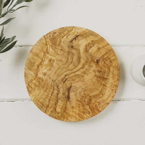 Naturally Med Round Chopping Board 20cm 041