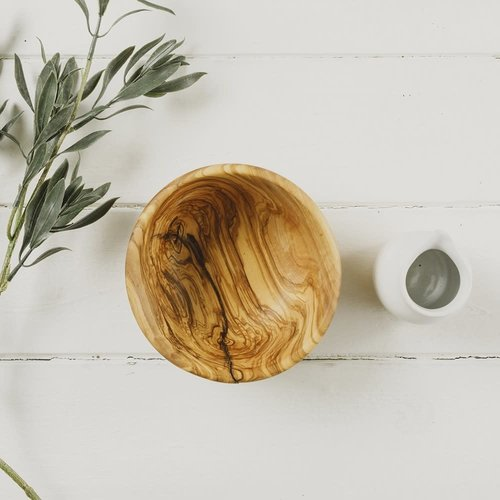 Naturally Med Rounded serving bowl  039